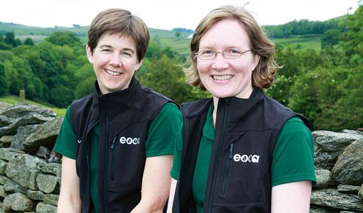 Tanya Bascombe and Catherine Savidge
