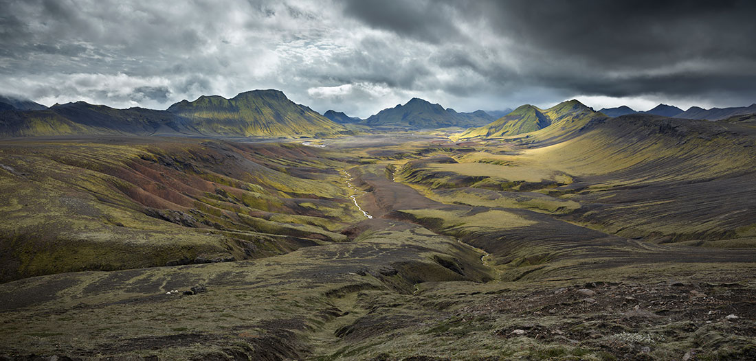 JOE CORNISH, Torfakvis Valley, Iceland Highlands