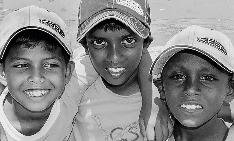 Happy boys in Banda Aceh