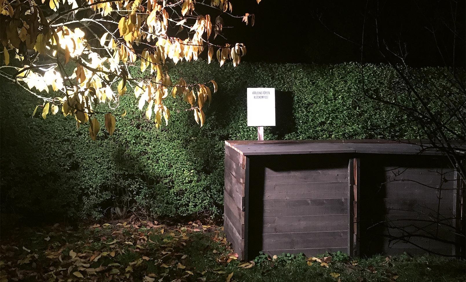 Houdini composting