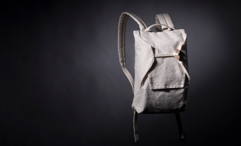 A Backpack Made From Wood