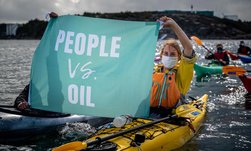 Kayaktivists vs. Big Oil